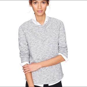 J. Crew Loom Knit Sweatshirt Heather Size M